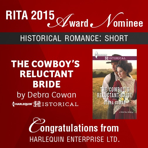 Debra Cowan RITA nomination