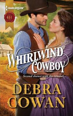 Whirlwind Cowboy by Debra Cowan